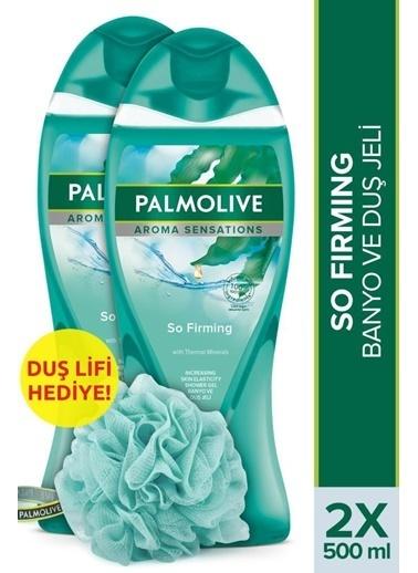 Palmolive Palmolive Aroma Sensations So Firm 2'li Duş Jeli 500 ml ve Duş Lifi Hediye Renksiz
